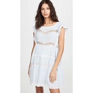 NWT Free People Retro Kitty Lace Trim Dress